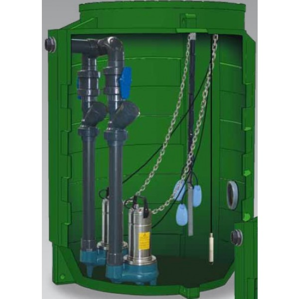 Pompe poste de relevage produits rts environnement for Poste de relevage