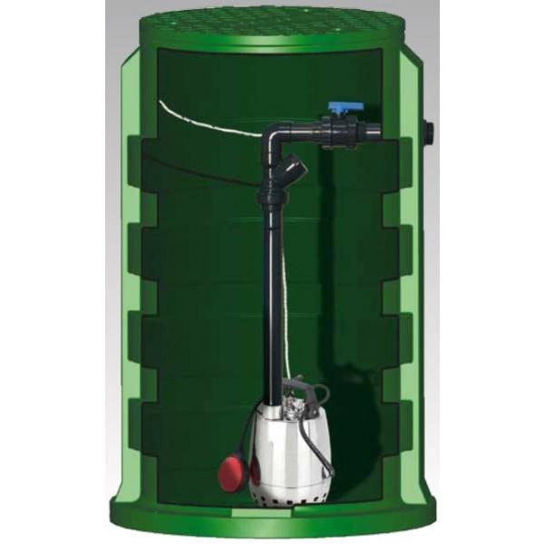 Postes de relevage sortie de fosse toutes eaux pour eaux claires ou légèrement chargées